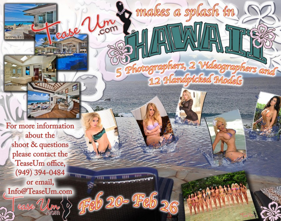 Hawaii 2015 Calendar Shoot Event