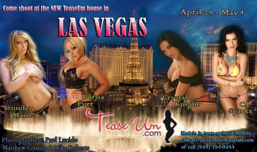Come Shoot At The New TeaseUm House in Las Vegas!!!