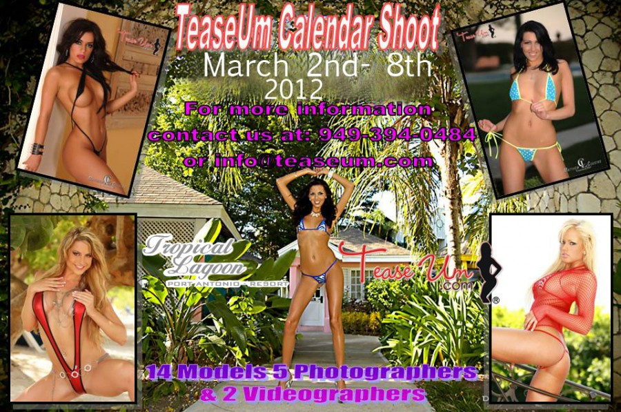 Jamaica Calendar Shoot Events