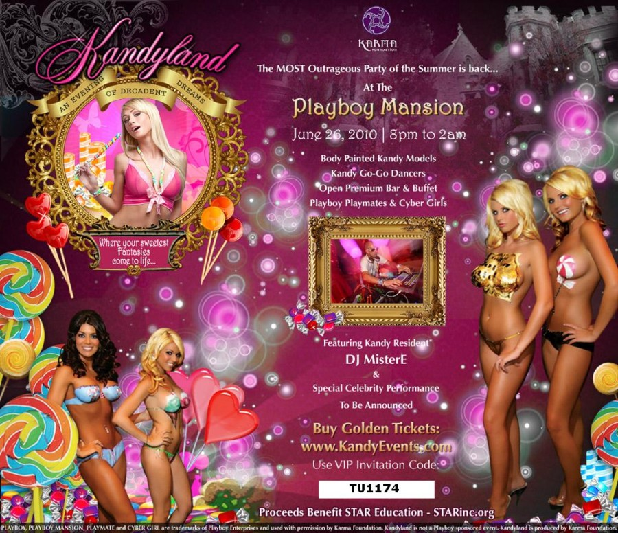 Kandyland Playboy Party Event