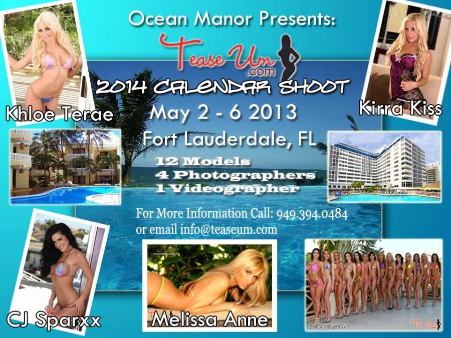 2014 Calendar Shoot - Fort Lauderdale, FL Event