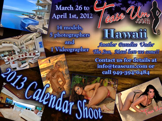 2013 Calendar Shoot in Maui! Event