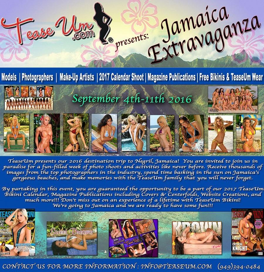 Jamaica Extravaganza Flyer