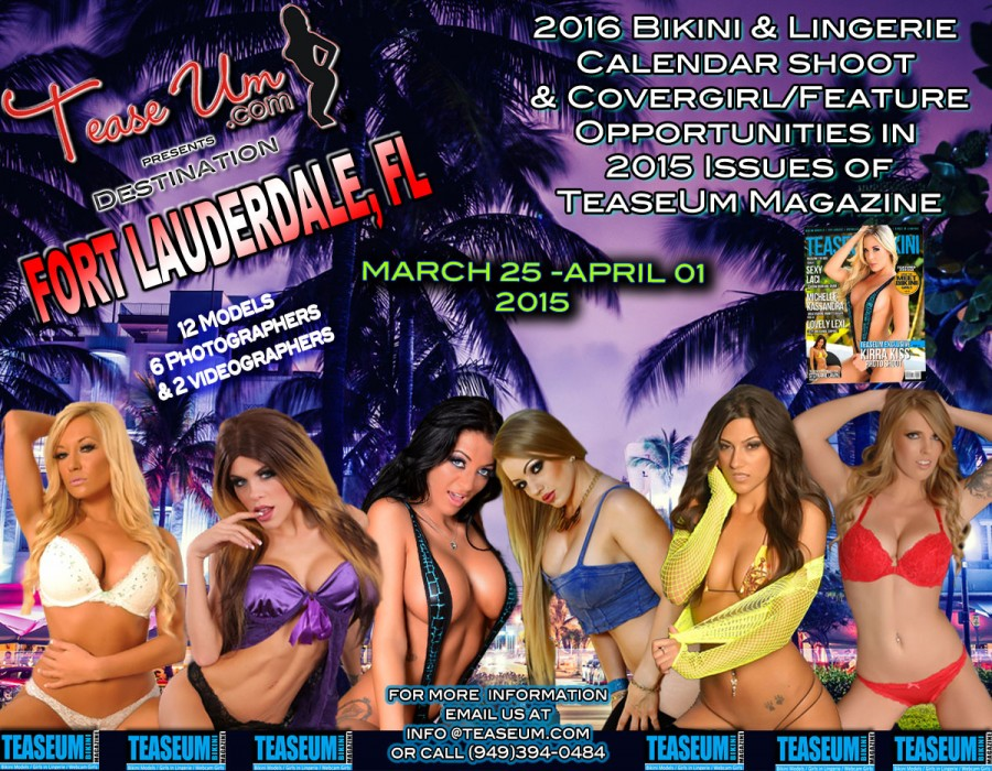TeaseUm Presents Destination: Fort Lauderdale, Florida
