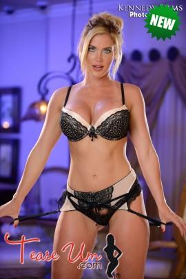 Lindsay showing off tall and sexy bikini bod