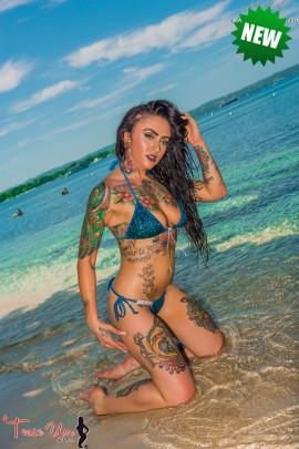 tattooed teaseum model trixie