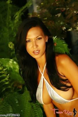 Jenny Milstead beautiful brunette babe