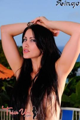 Anais Zanotti amazing topless bikini babe