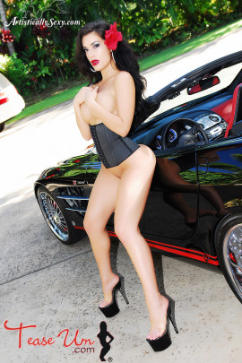 Cj Sparxx Hot And Daring In Corset