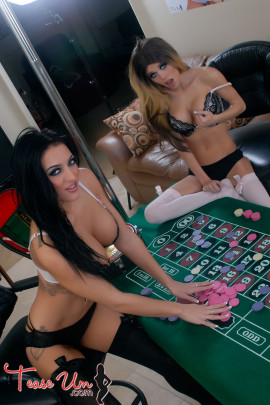 Crystal knight and Lovely Lexi Casino Girls Gone Wild