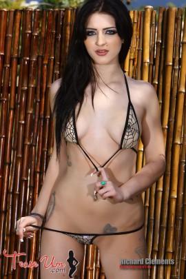 Crystal Knight insanely hot bikini babe
