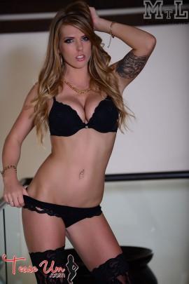 Jennifer Marie Amazing Babe In Lingerie