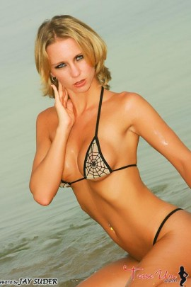 Robin Adams crazy hot blonde babe pic