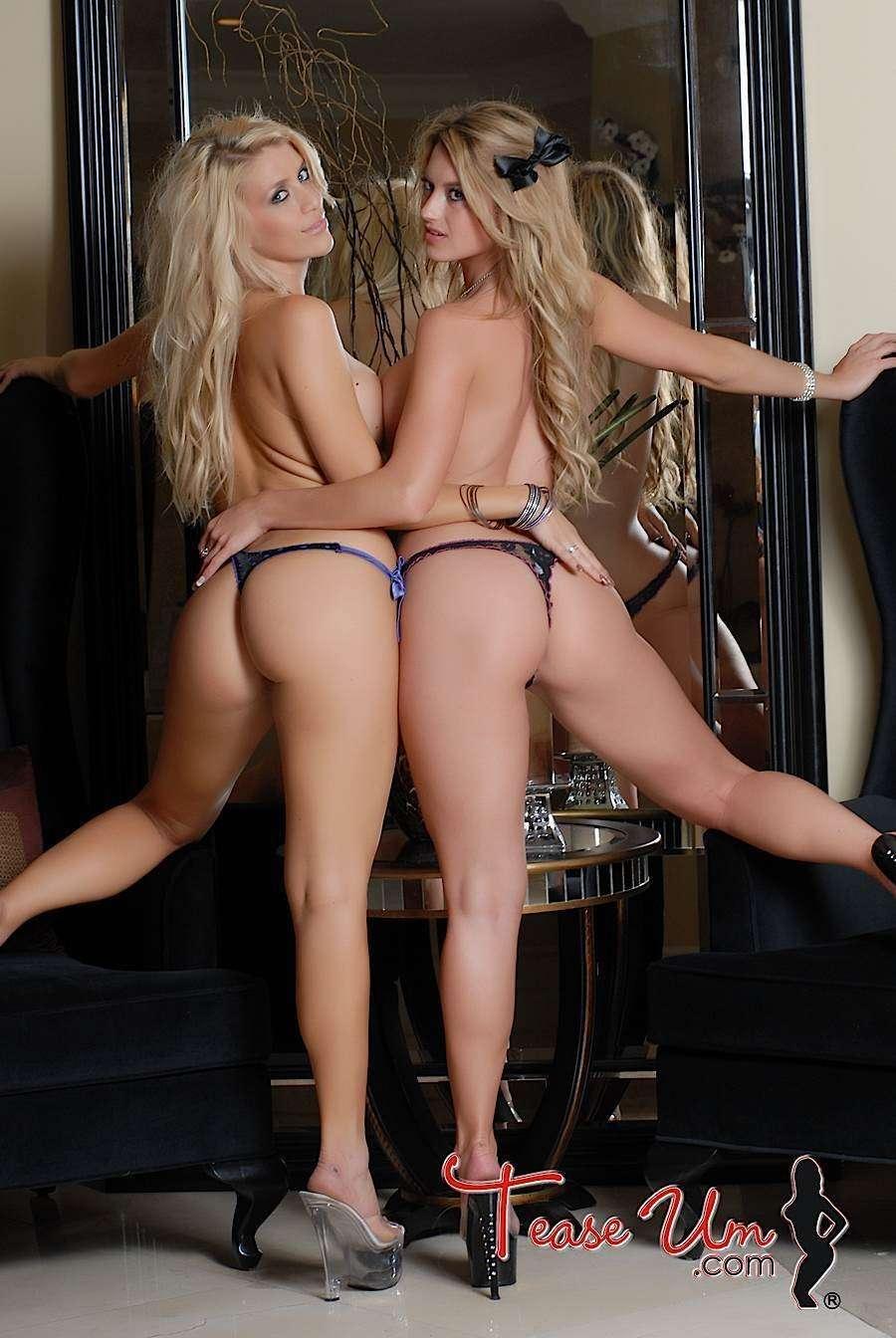 Dawnielle Royalty busty topless bikini girls thumb 2