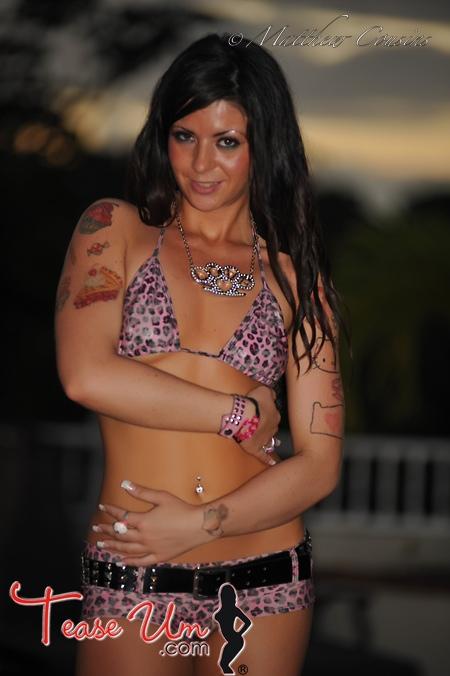 Megan Nicole desire leopard print bikini pic thumb 2
