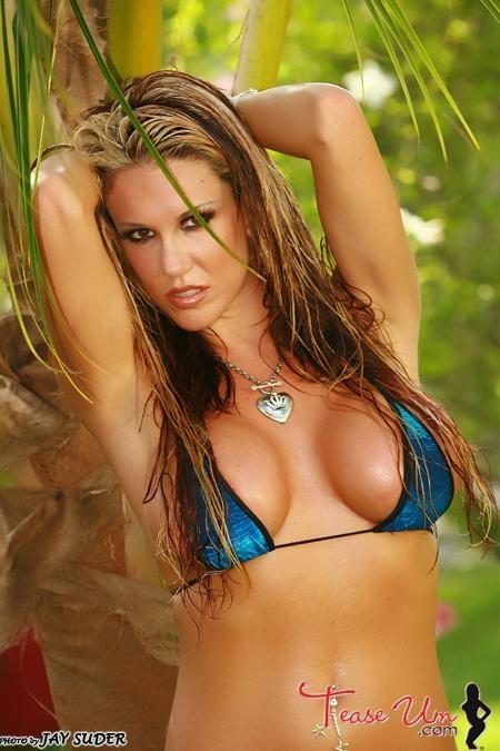 Bridgette Ashley Busty Bikini Babe
