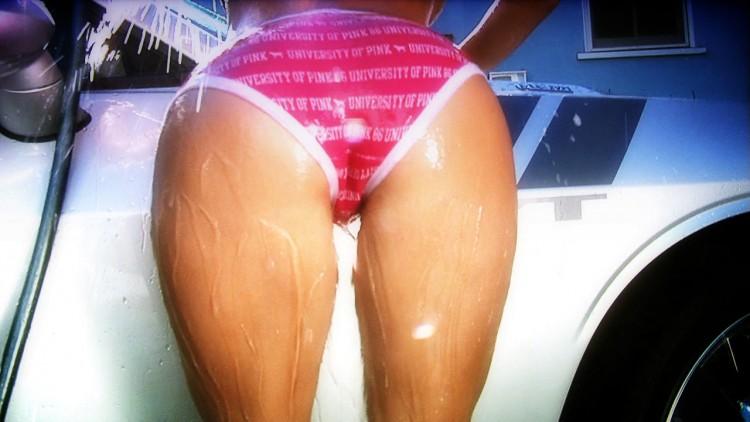 Trisha Maree Wet And Busty Car Wash
