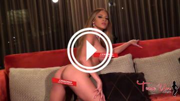 teaseum model crystal knight naked hotel room video