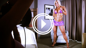 behind the scenes nude shoot with fitness model megan avalon